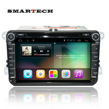 2 din gps de radio del coche para vw passat b6 jetta golf 5 polo Android 4.4 Quad core 8 pulgadas 1024*600 de pantalla de ALTA DEFINICIÓN estéreo del coche de navegación GPS