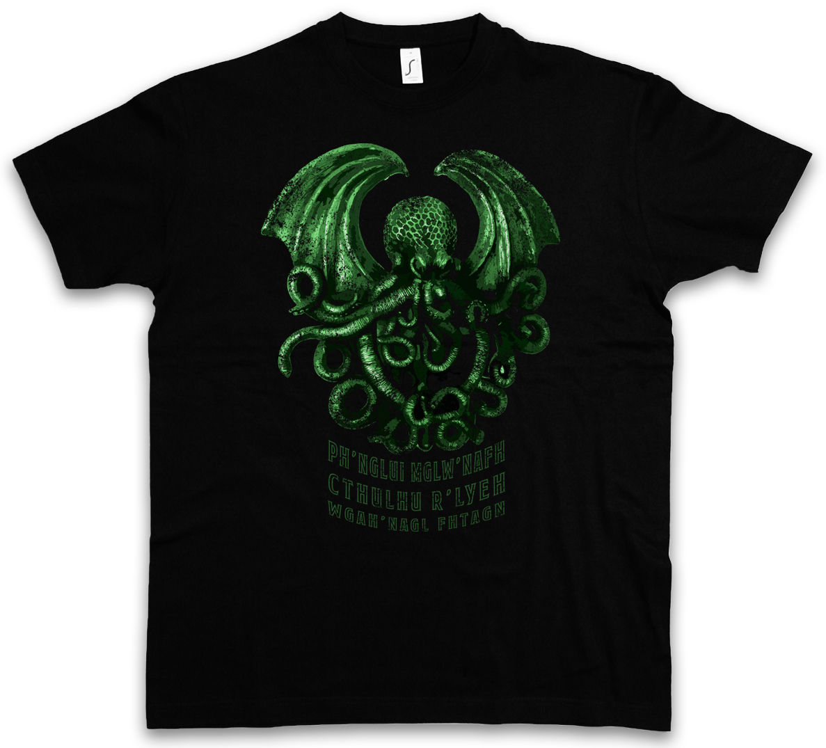 CTHULHU R LYEH T-SHIRT - Wars Horror Arkham H. P. Lovecraft Miskatonic T-Shirt