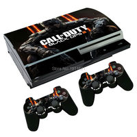 OSTSTICKER Vinyl Decal For PS3 Fat Skin Stickers Wrap For Sony PlayStation 3 Console and 2 Controllers Decal