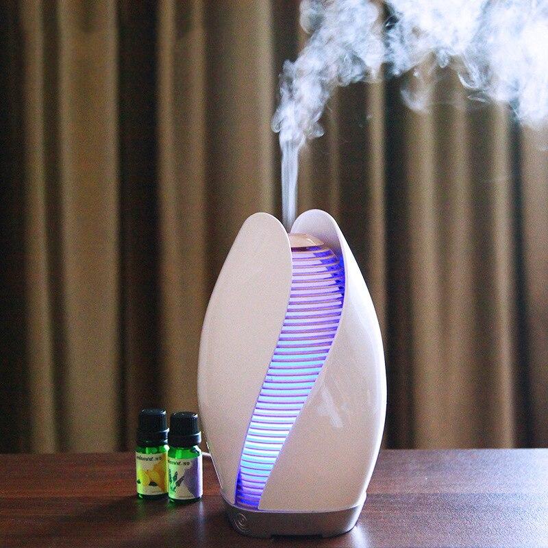 Beautiful Night Light Bud Style Aroma Oil Diffuser Desktop Ultrasonic Humidifier Mist Maker Air Humidifier Essential