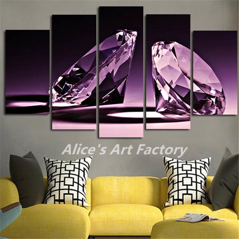 5 Piece Pinturas Murales Pintura Del Cartel Del Arte Impresiones de ...
