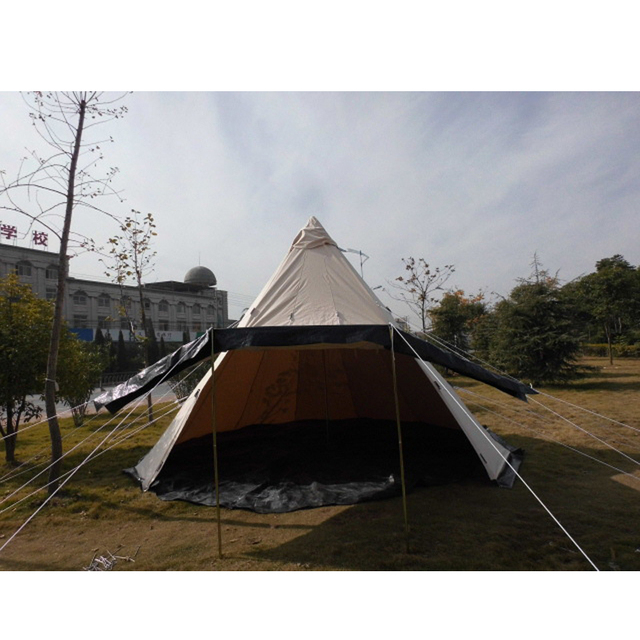 Outdoor Survival Tent 500*500*300cm Cotton Canvas Bell Tent Waterproof Yurt Tipi C&ing  sc 1 st  AliExpress.com & Aliexpress.com : Buy Outdoor Survival Tent 500*500*300cm Cotton ...