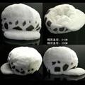 Anime de one piece Trafalgar Law cosplay sombrero de felpa mejor regalo de LA VENTA CALIENTE