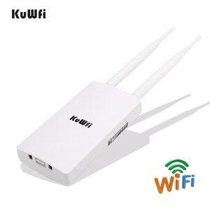 Image 2 - Repetidor de wifi sem fio, extensor de wifi 300mbps 2.4ghz ponto de acesso grande área à prova d água amplificador wi fi roteador