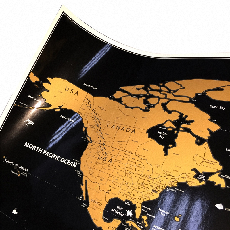 Travel-Scratchable-World-Map-Size-20x28inch-Added-Bonus-Traveller-Adventure-maps-Easy-to-scratch-off-map