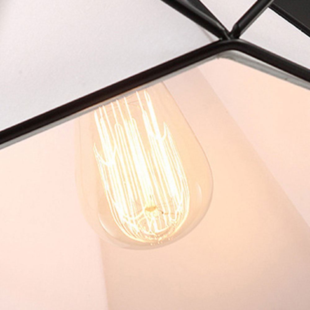 E27 Recessed Ceiling Lights Iron Ceiling Lights Dreamlike Romantic Parlor Retro Metal Ceiling Lights for Bedroom Drop Shipping