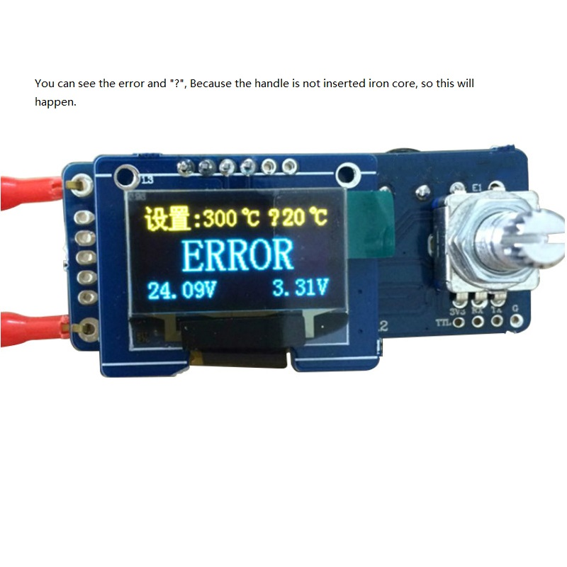 YIMAKER T12 OLED Controler digital de temperatură al stației de - Echipamente de sudura - Fotografie 6