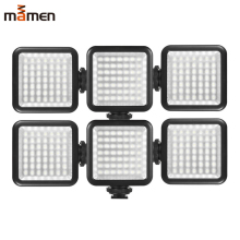 W49 Mini LED 3 Hot Shoe Mount Camera light Dimmable Youtube phone lights photo lamp for Canon Nikon Sony DSLR photography light mcoplus 130 led video light photography lamp for canon nikon sony pentax panasonic samsung olympus dv camera camcorder vs cn 126
