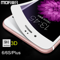 MOFi 3D Full Cover Tempered Glass Screen Protector For IPhone 6 6S 4 7 Glass Film