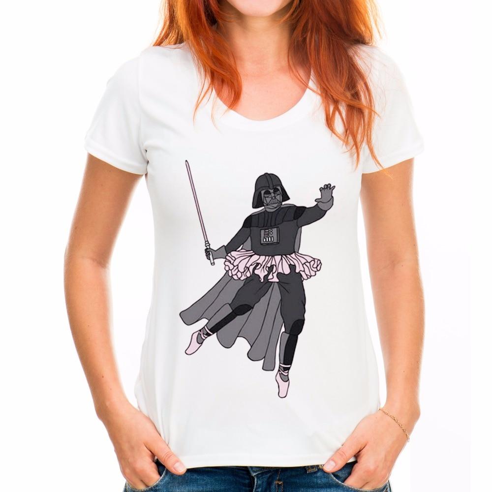TEEHEART 2017 Summer Women Vintage T Shirt Funny Pink Harajuku Warrior Printed Casual Short Sleeve Female White Tops Tees la576