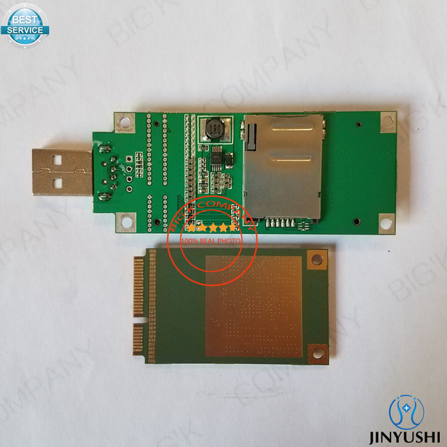 Sierra sans fil MC7304 + MINI adaptateur PICE vers USB + antenne Active GPS + antenne PCB 4G prise en charge de lantenne Gobi API MIMO pour les routeurs DVR de voiture