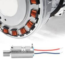 5Pcs 5 V 11500rpm Strong Vibration Micro Coreless Vibrating Motor for Handheld Detection Equipment 5pcs 14500rpm waterproof cylindrical micro coreless vibration motor for massager