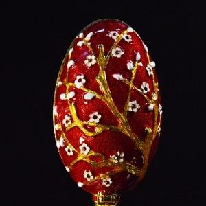 Image 3 - QIFU Üstün Kalite Faberge Stil Yumurta Mücevher Kutusu için