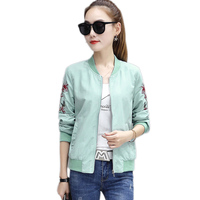 Cardigans Women Casual Jacket Solid Color Embroidered Jacket Big Size Giacca Donna Woman Coat Womens Jackets