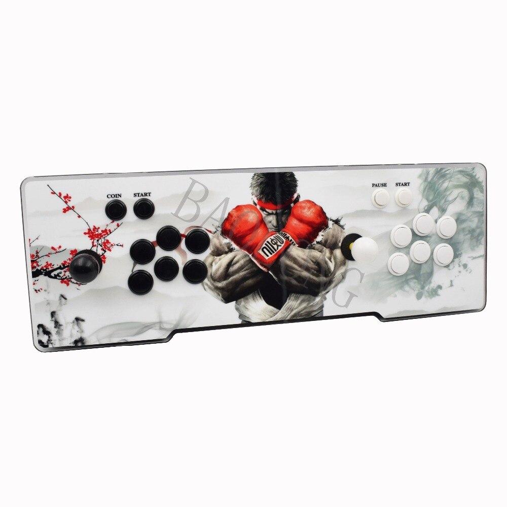 Più nuovo Box 6 s 1388 in 1 gioco arcade console usb joystick arcade pulsanti 1 lettore 2 lettori di controllo pandora box