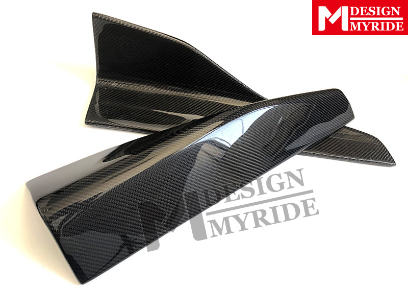 W204 Side Skirts Splitters Flaps Carbon Fiber Side Skirts For MercedesMB C Class W205 c350 c300 2 Door Coupe E Style Side Skirts in Bumpers from Automobiles Motorcycles