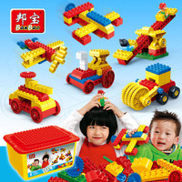 BanBao Larger Particles Toy Robot Assembled Mechanical Gear Blocks Bricks Educational Building 102pcs Toys Children Gifts 6529
