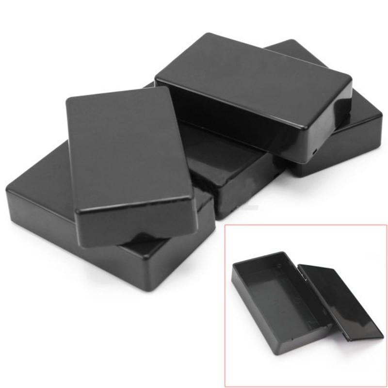 New Plastic Electronic Project Box Enclosure Instrument case DIY 100x60x25mm Gt