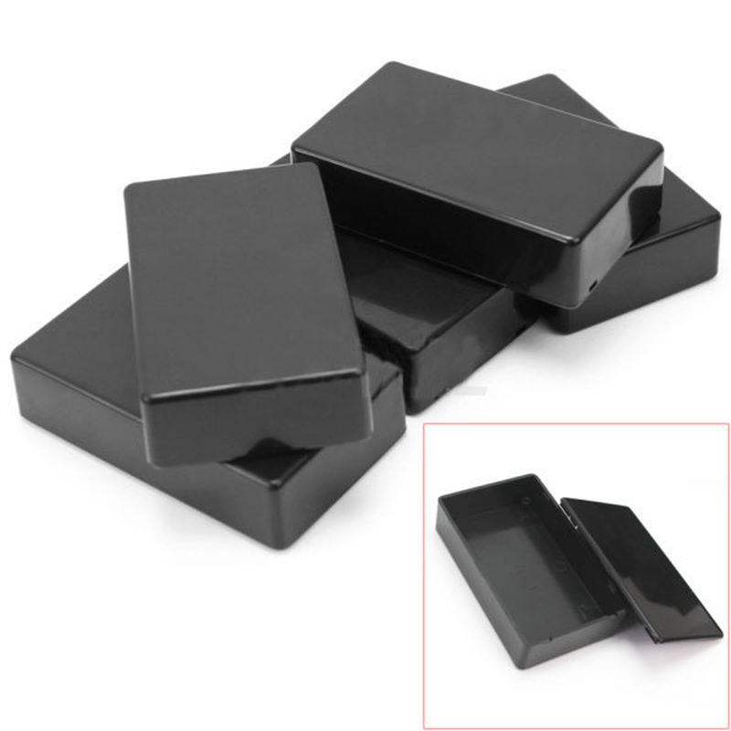 ABS DIY Small Shell Wire Junction Boxes Plastic Electronic Project Box Enclosure Instrument 100x60x25mm
