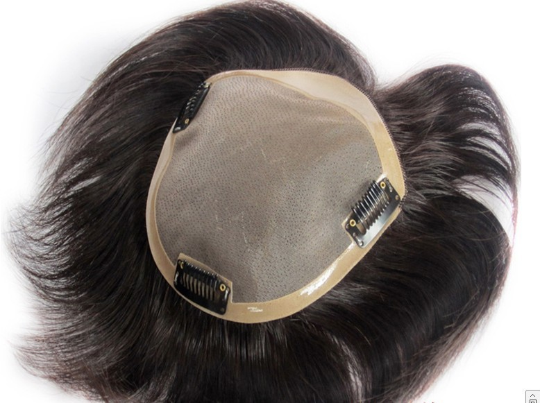 Real Hair Thickening Hairpieces Short Hair Wearing Real Human Hair Weaving Toupee For Man Or Lady Women Toupee Toupee Aliexpress
