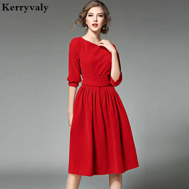 Christmas Party Look 2020 Velvet OL Style Women Blue Velvet Dress Winter Dresses Women 2020