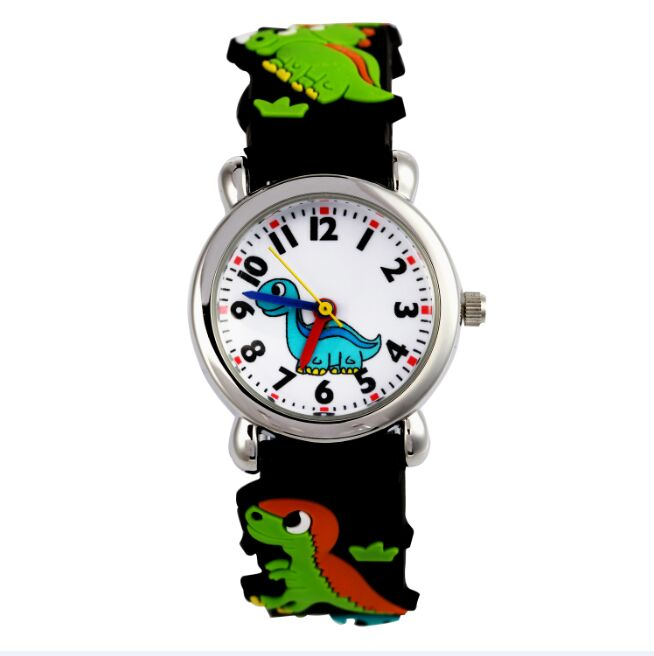 Brand WL Children silicone watch Brand Quartz Wrist Watch Baby For Girls Boys Waterproof dinosaur kids watch  WL0019 new fashion design unisex sport watch silicone multi purpose date time electronic wrist calculator boys girls children watch