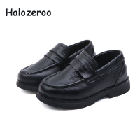 Spring New Baby Girls Genuine Leather Shoes Children Black Loafer Boys School Shoes Toddler Fashion Shoes Brand Moccasin 2019