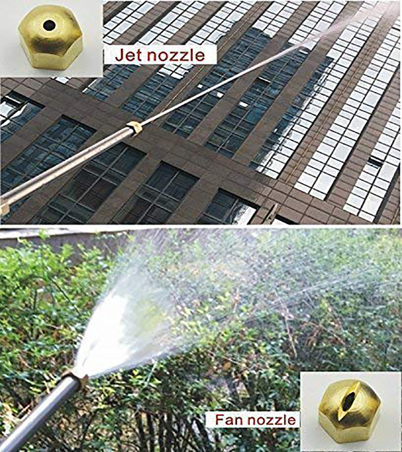 2019 NEW Car High Pressure Power Water Gun Jet Garden Washer Hose Wand Nozzle Sprayer Watering Spray Sprinkler Cleaning Tool in Garden Water Guns from Home Garden