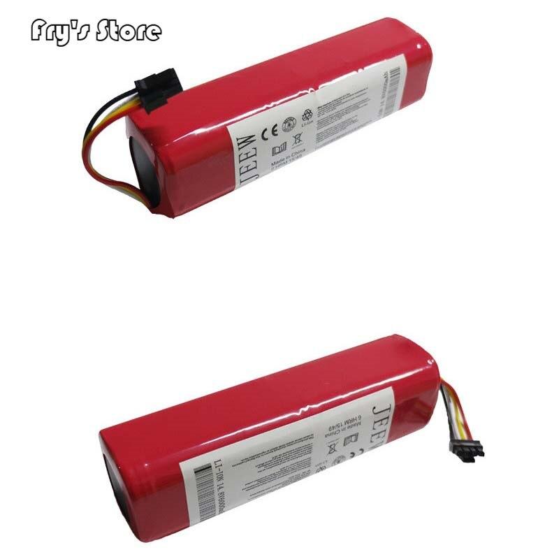 6000 mAh Li-ion 18650 Batterie pour Xiao mi mi robot aspirateur Robotique Cleaner mi robot aspirateur Accessoires Roborock S50 S51