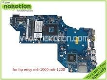 laptop motherboard for hp pavilion M6 M6T LA-8713P rev 1.0 SPS 698395-501 698395-001 HM77 GMA HD4000 DDR3