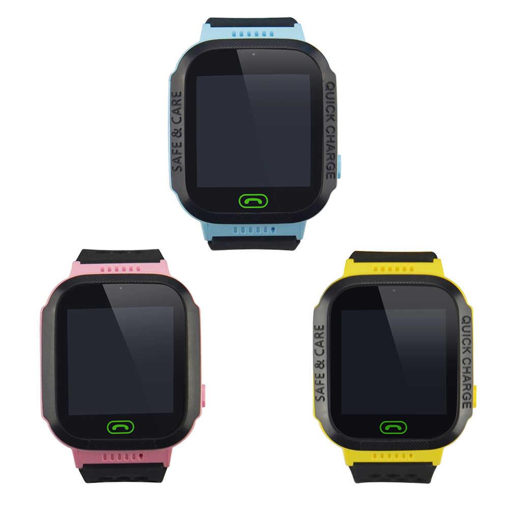 Children Wrist Watch Tracker GSM GPRS Kids Locator Y21S 2G Tracker No GPS Module One Key SOS Multi-function Watch Tracker No Box