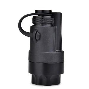 Image 5 - Airsoft Tactical Accessories Rifle Gun Aluminum Wireless Remote Control Tail Cap Mount fit SF M951 M952V M961 M971 Flashlight
