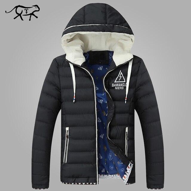 2017 neue Marke Winterjacke Männer Kapuzen Fashion Kleidung männer jacken  und mäntel Lässige Herren Parkas Verdicken 47d05b15f8