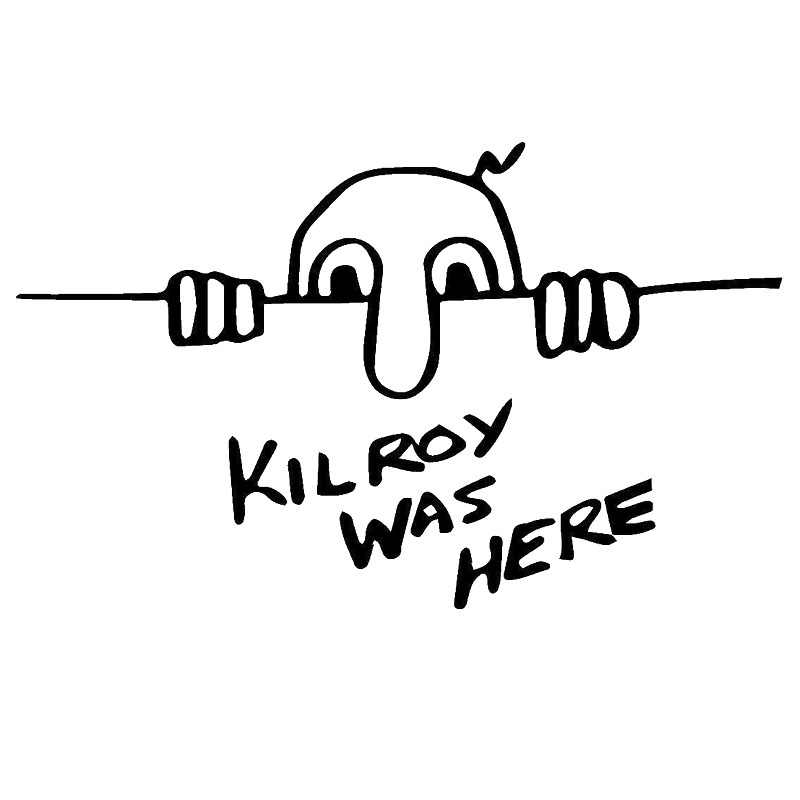 12 7cm8 9cm Kilroy Was Here Wwii Icon Military Marines Army America