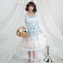 Original design Lolita Cosplay  Fairy Kei Sweet Jsk Casual Shirt Gothic Dresses Lace Dress Pastel