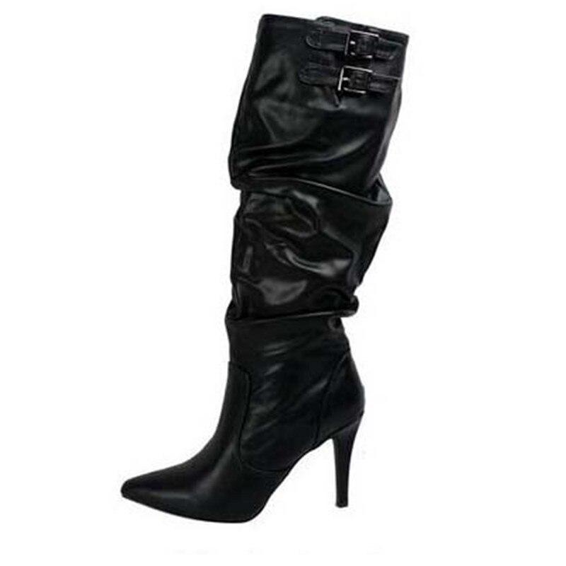 Emma Mode Chaussures Cheville En Cuir Zapatos Muje Long Nouvelle Noir D'hiver Fold Bottes Femmes De Roi Martin Rétro marron Artificielle rq7EyrOB