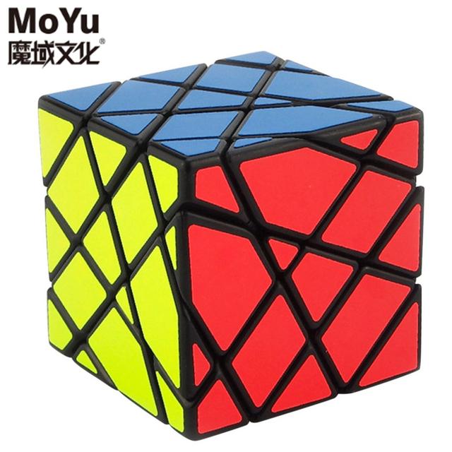 A estrenar MoYu AoSu Eje de Inclinación Cubo Mágico Speed Puzzle Cubos De Juguetes Para Los Niños