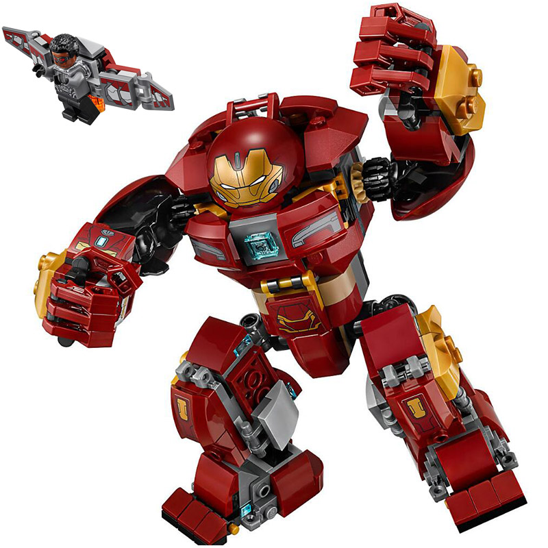 Marvel Avengers The Hulkbuster Smash-Up Building Blocks 420pcs Model Bricks Toys Compatible With Legoings AvengersMarvel Avengers The Hulkbuster Smash-Up Building Blocks 420pcs Model Bricks Toys Compatible With Legoings Avengers