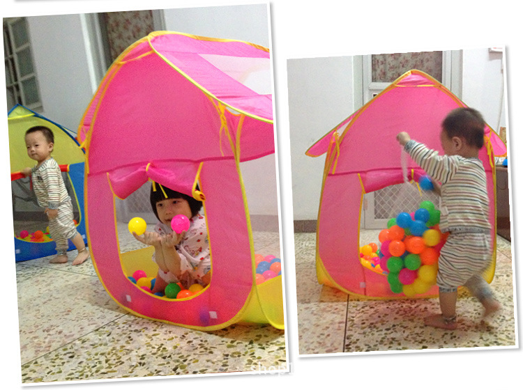 Baby Play Yard Children Tent Infant Play House Indoor Tents Fold Ball Pool Play Tent Safety Mesh Baby Playpen FREE SHIPPING-in Toy Tents from Toys u0026 Hobbies ...  sc 1 st  AliExpress.com & Baby Play Yard Children Tent Infant Play House Indoor Tents Fold ...
