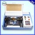 Высокое Качество 110/220 В 40 Вт 200*300 мм Мини СО2 Лазерный Гравер Гравировка Резки 3020 лазер с USB Спорта