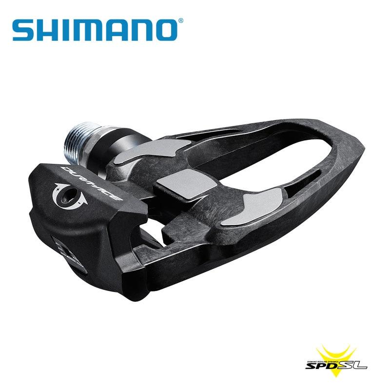 Shimano DURA ACE black carbon fiber <font><b>bike</b></font> <font><b>PEDALS</b></font> PD-r9100 9100 <font><b>pedal</b></font> with SM-SH12 cleats