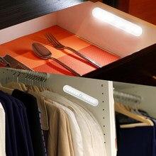 20 LEDs Wireless PIR Motion Sensor Light Intelligent Infrared Induction Lamp for Cabinet Closet CLH@8