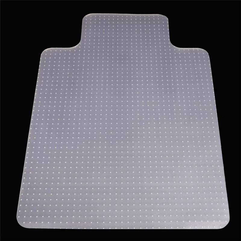 90x120x0.2cm PVC Transparent Floor Mat Office Chair Mats