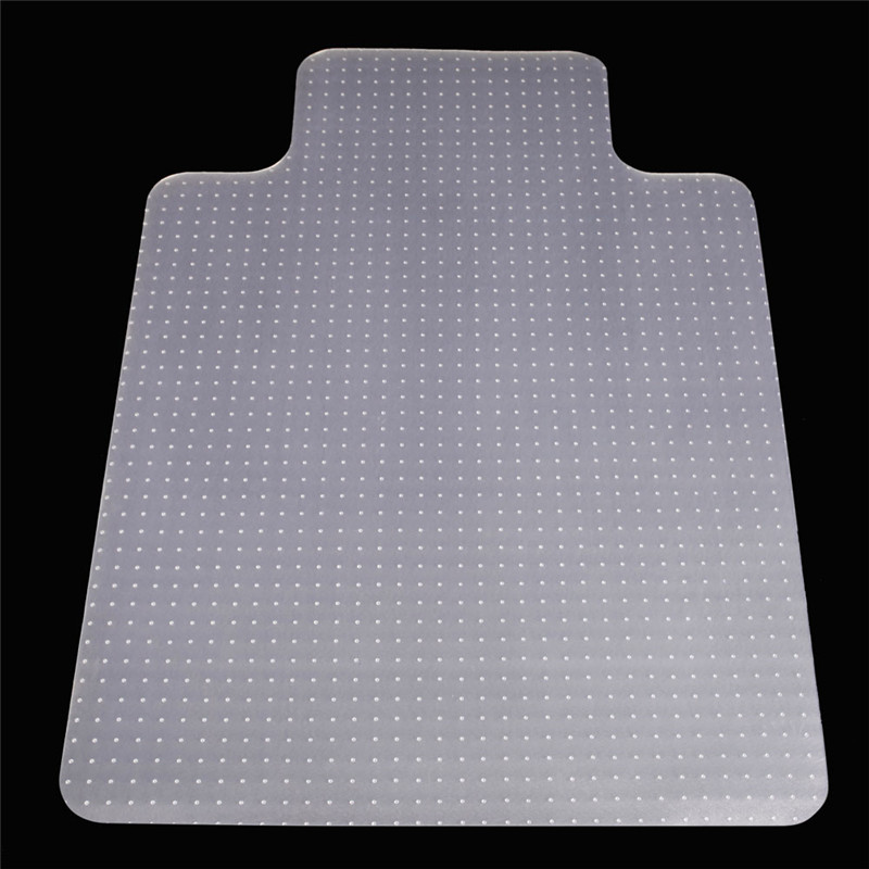 90x120x0.2cm PVC Transparent Floor Mat office chair mats for floor Home use Protective floor mats for living rooms With nails