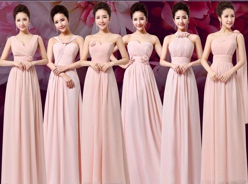 Contemporáneo Rosa Vestidos De Dama De Color Púrpura Componente ...