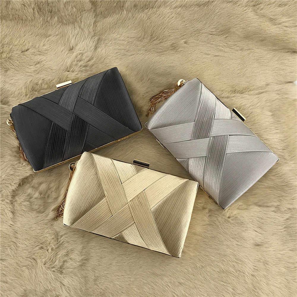 Для женщин Мода кисточкой клатчи вечерние ручные сумки Свадебные кошелек Minaudiere модные Для женщин s сумки кошелек клатч вечерняя сумочка; BS010 # g2