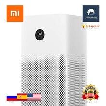 Original Xiaomi Mi Air Purifier 2S OLED Display Air Quality PM 2.5 Monitor 10min Circulation 360 Degree Ventilate White