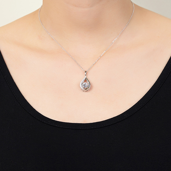 JOWISDOM 100% 925 Sterling Silver Choker Necklace with Collar Piedra Natural Topaz Collares Kolye Ketting