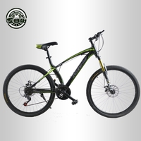 Love Freedom Top Quality Bike 26 Inch Mountain Bike Dual Disc Brakes 21 Speed Men Women