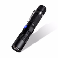 Russia LED Flashlight With Power Bank Mode 18650 Tactical Flashlight Powerful LED Torch USB Charging Lanterna